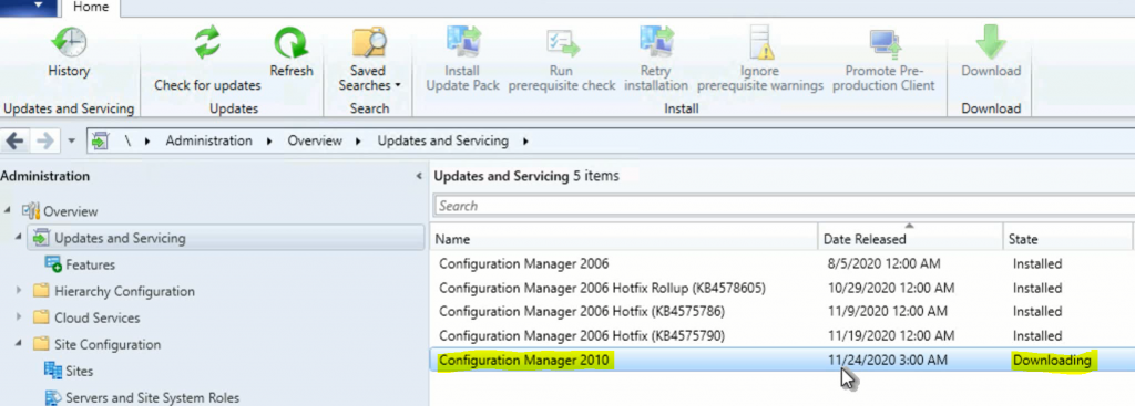 SCCM Server Upgrade to 2010 | ConfigMgr | Guide | Step by Step