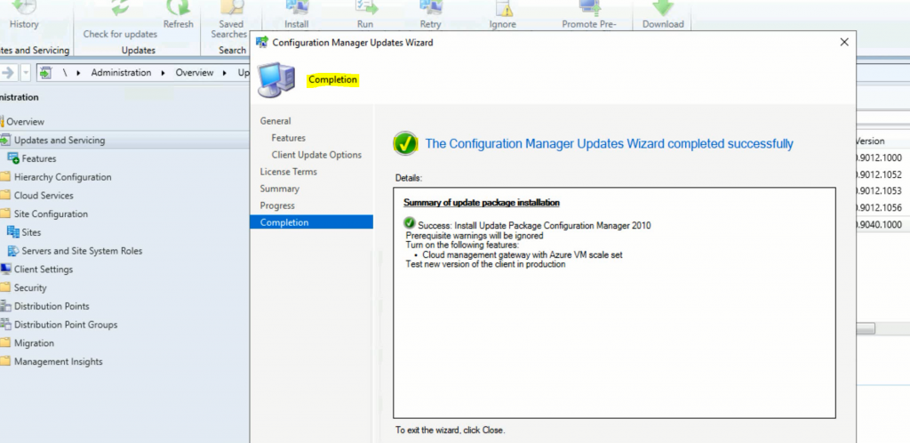 SCCM Server Upgrade to 2010 | ConfigMgr | Guide | Step by Step 4
