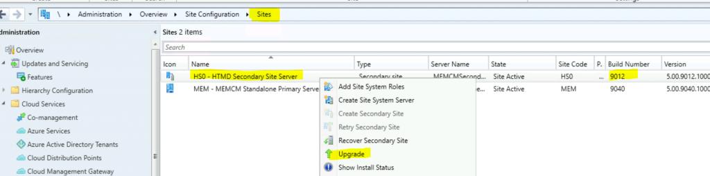 Latest SCCM Secondary Server Upgrade Guide | ConfigMgr | Configuration Manager