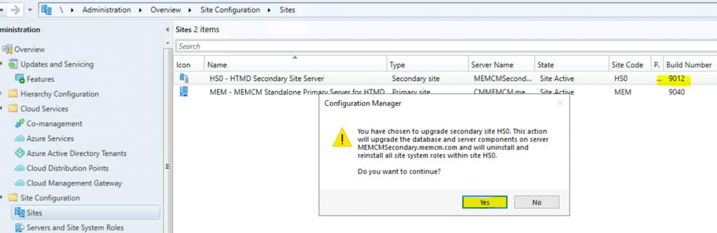 SCCM 2010 Secondary Server Upgrade Guide | ConfigMgr