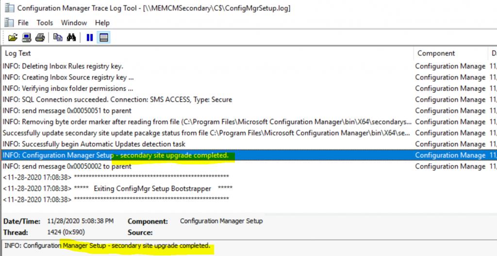 SCCM 2010 Secondary Server Upgrade Guide | ConfigMgr 1
