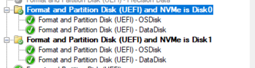 ConfigMgr Task Sequence OSD Multiple Physical Drives | SCCM