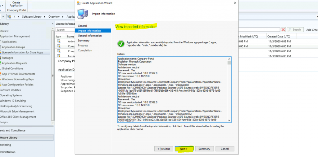 Create Microsoft Store Apps Using ConfigMgr | SCCM