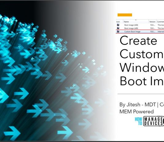 Create Custom Windows PE Boot Image