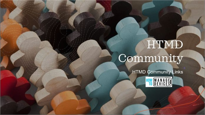 HTMD Community Links