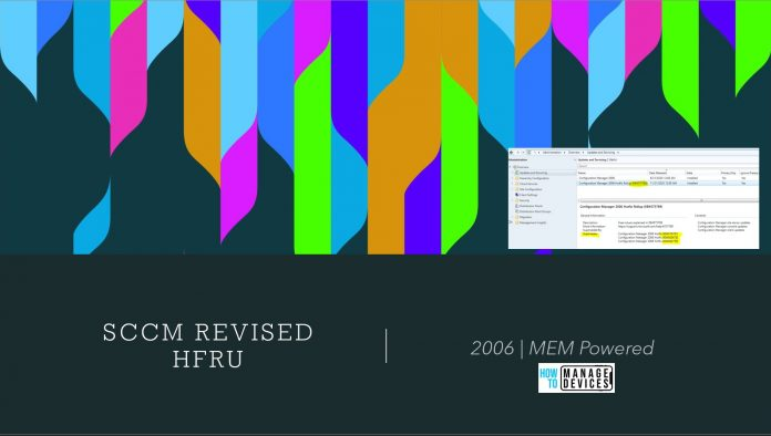 SCCM 2006 Revised Update
