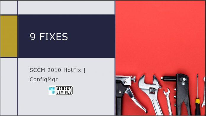 SCCM 2010 Hotfix KB4594176