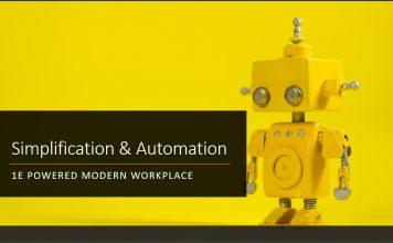 Simplification Automation 1E