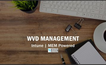 WVD Management with Intune