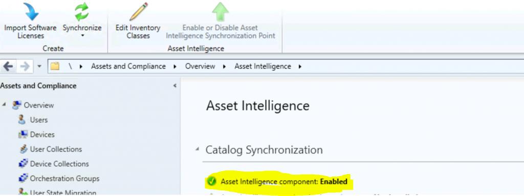 Enable ConfigMgr Asset Intelligence Hardware Inventory | SCCM
