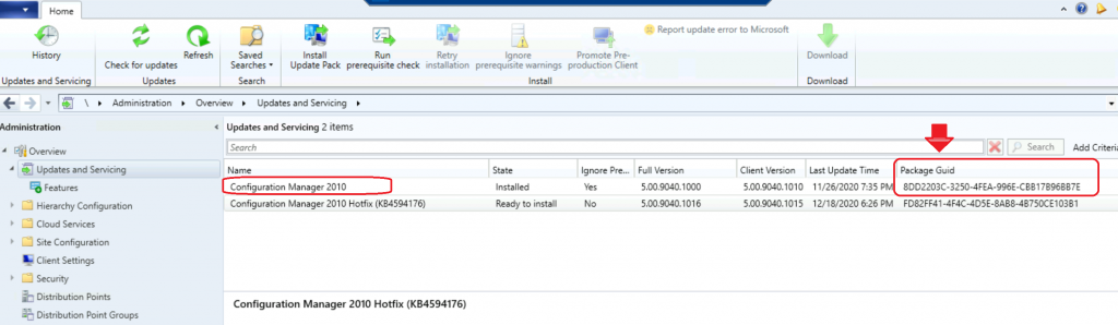 New Hotfix Available for ConfigMgr 2010 | SCCM | KB4594176