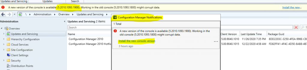 New Hotfix Available for ConfigMgr 2010 | 9 Fixes | SCCM | KB4594176