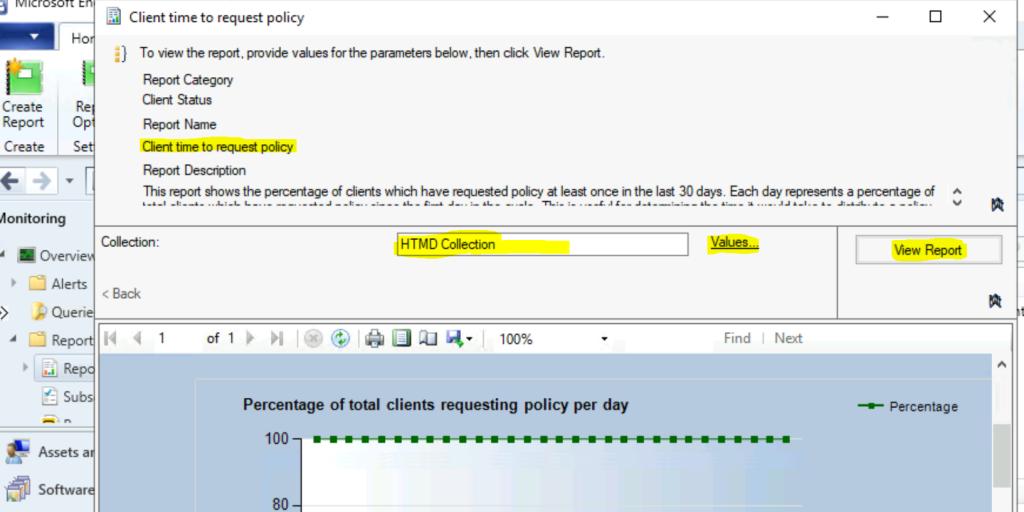 ConfigMgr Client Status Reports - SCCM