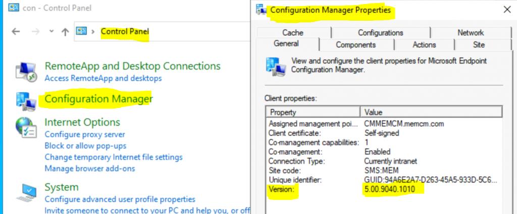 ConfigMgr 2010 Version Details | SCCM