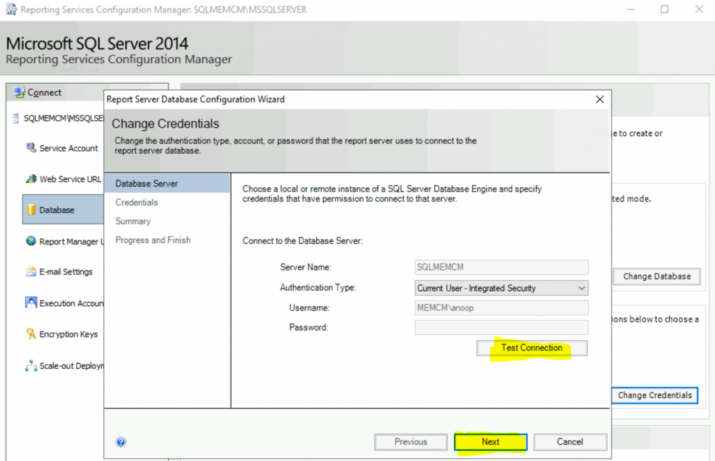 Fix Report Server cannot Open a Connection Error ConfigMgr | SCCM 6
