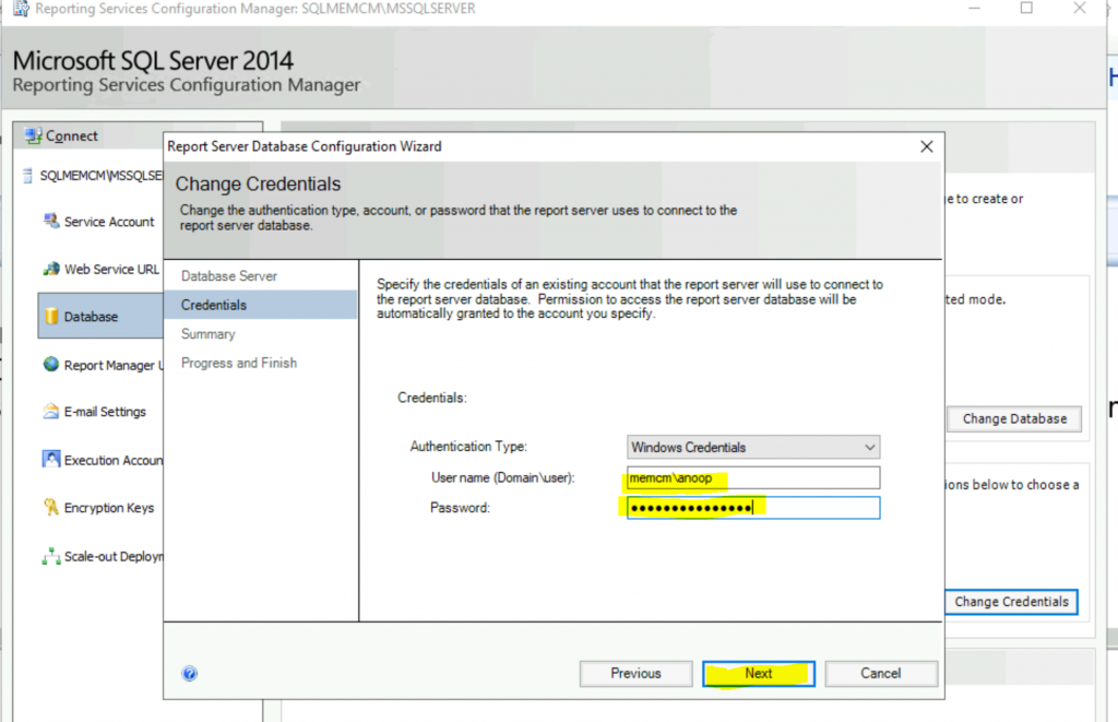 Fix Report Server cannot Open a Connection Error ConfigMgr | SCCM 7