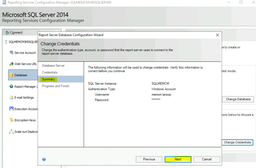 Fix Report Server cannot Open a Connection Error ConfigMgr | SCCM 8