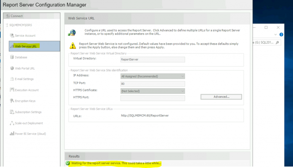 Fix Report Server cannot Open a Connection Error ConfigMgr | SCCM 3