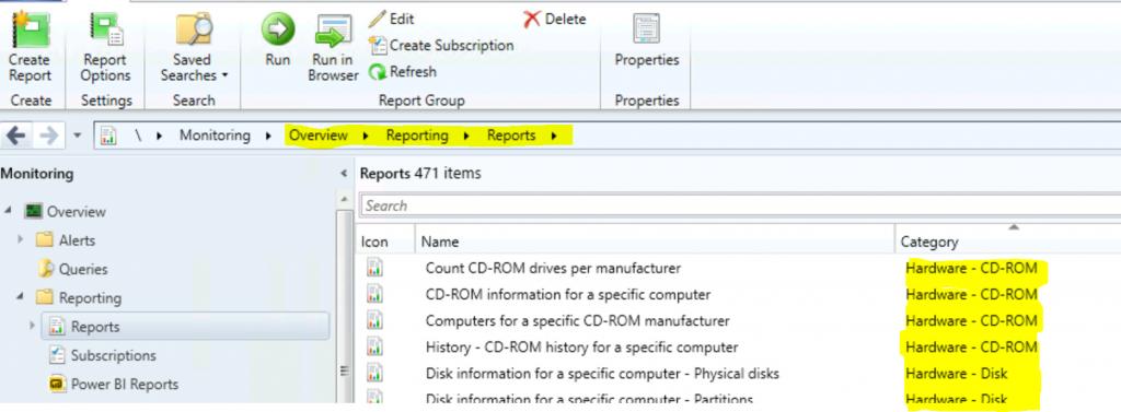 ConfigMgr Hardware Related Reports | SCCM | Default