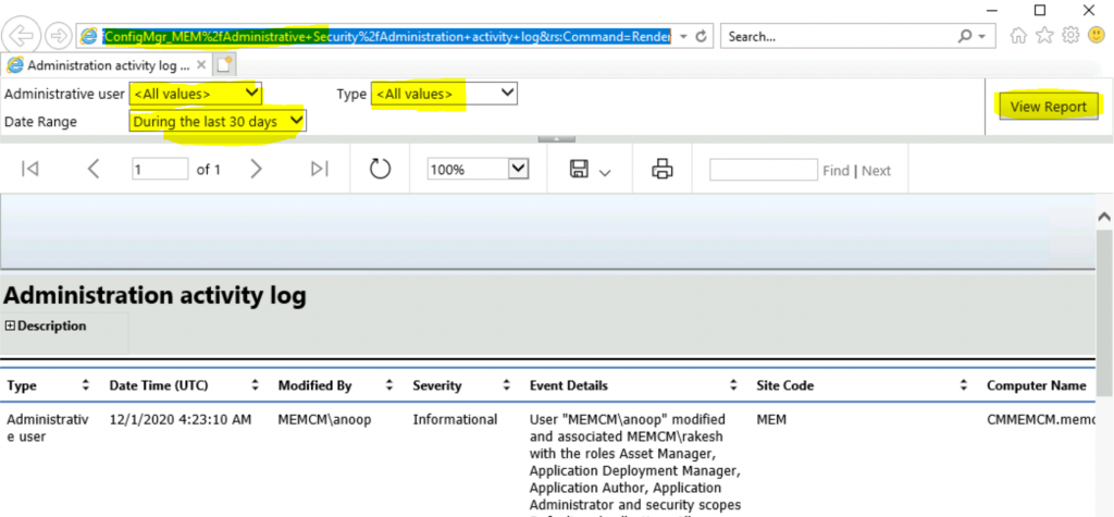 How to Launch ConfigMgr Reports   SCCM   Default Reports