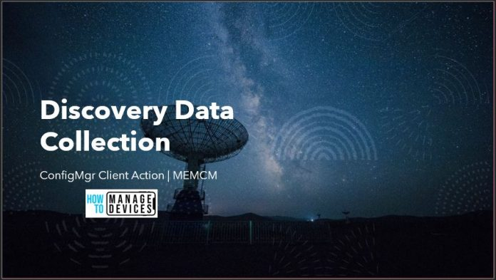 Discovery Data Collection