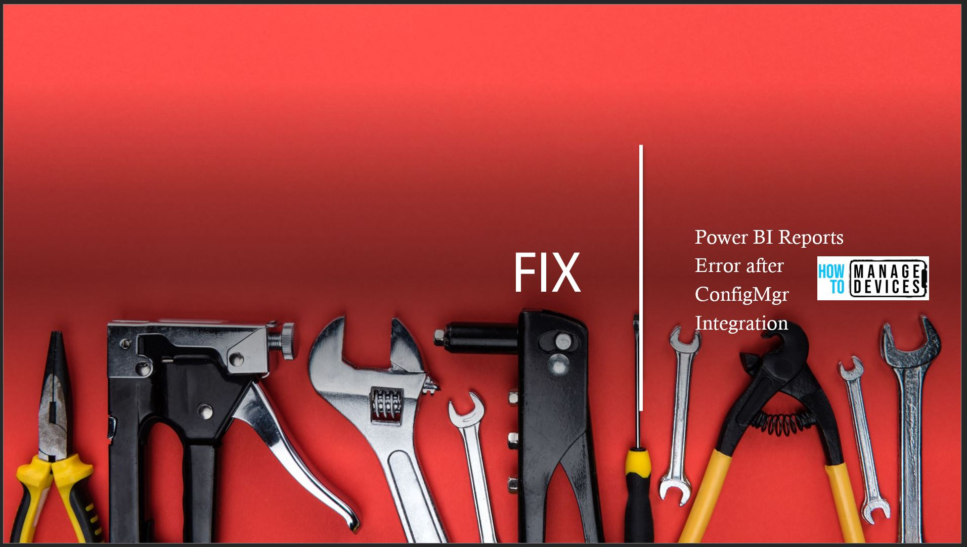 Fix Power BI Error