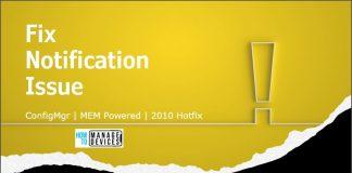 SCCM 2010 Hotfix