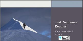 SCCM Task Sequence Reports