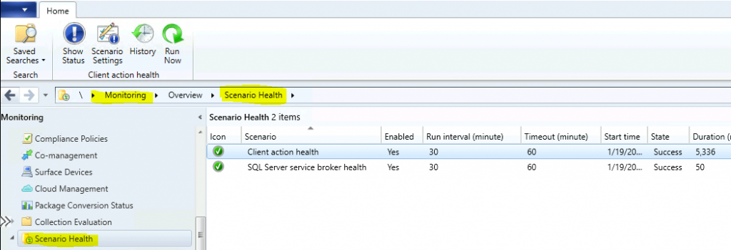 Health Scenarios - ConfigMgr Scenario Health Checks | SCCM