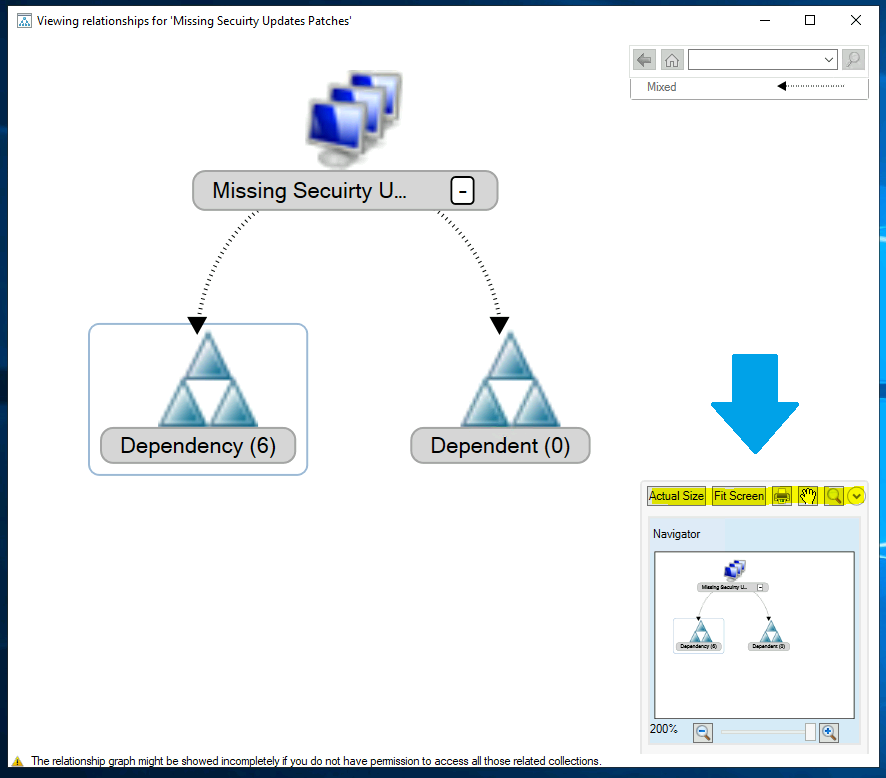 ConfigMgr Collection View Relationships Graph | SCCM