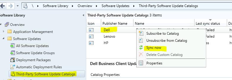 Fix ConfigMgr Third-Party Updates Last Sync Status Trust Failed | SCCM