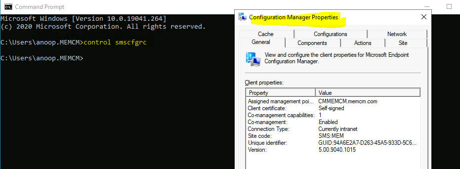 SCCM Software Center vs ConfigMgr Client Applet | Differences
