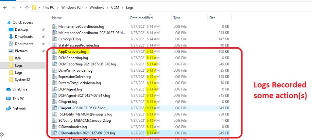 ConfigMgr Client Actions Application Deployment Evaluation Cycle | SCCM