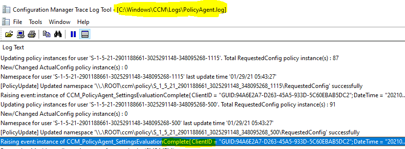 Machine Policy Request & Evaluation Cycle | Client Action | SCCM | ConfigMgr 1