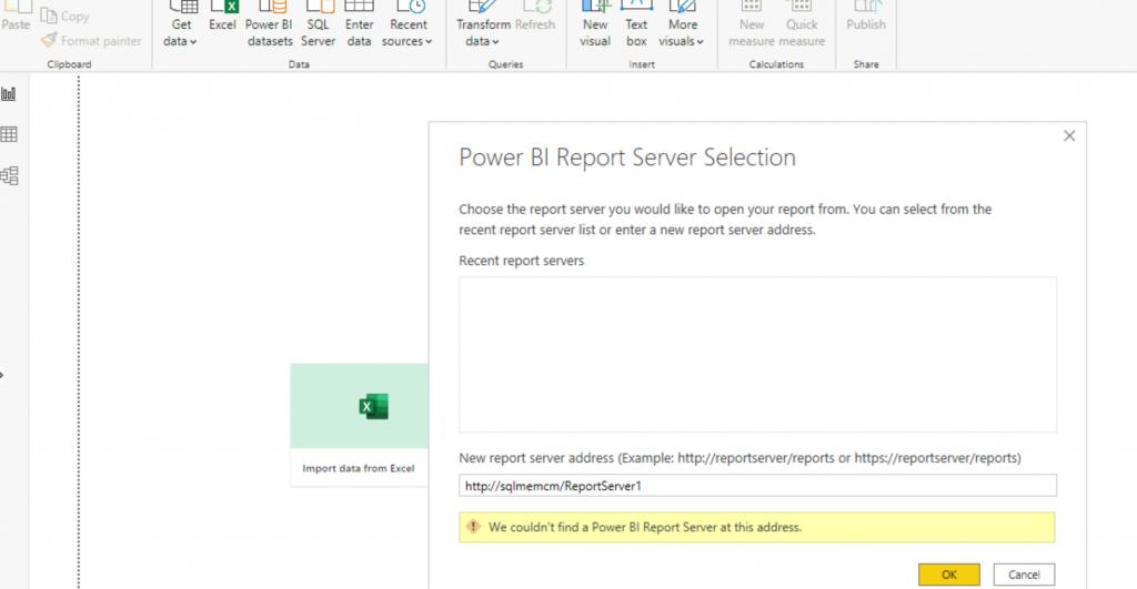 Fix ConfigMgr Power BI Report Unexpected Error | SCCM