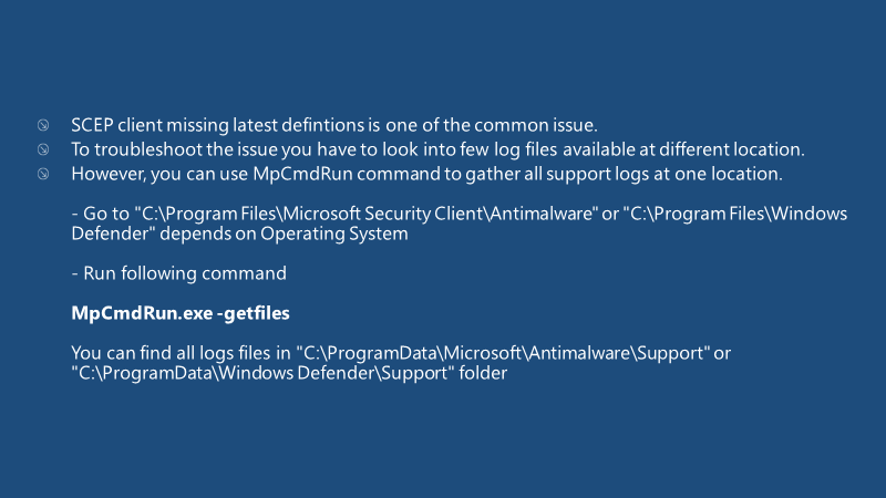 Fix SCCM SCEP Related Issues | Client Side | ConfigMgr | Defender | Configuration Manager | Endpoint Manager 16
