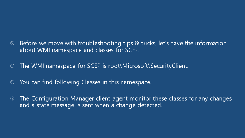 Fix SCCM SCEP Related Issues | Client Side | ConfigMgr | Defender | Configuration Manager | Endpoint Manager 18