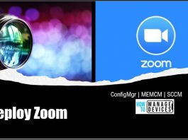 Deploy Zoom using SCCM