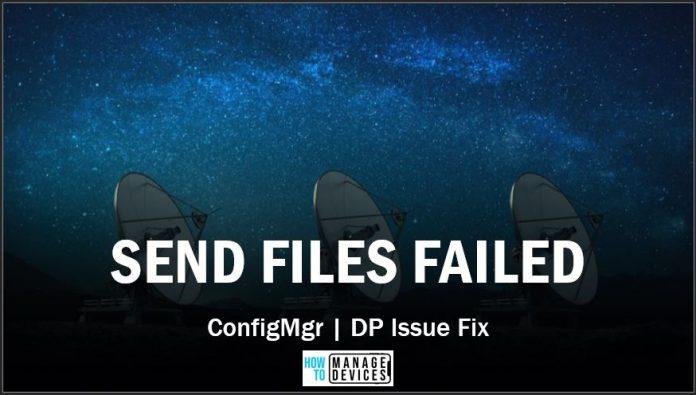 SCCM Failed 0x80070003 Error