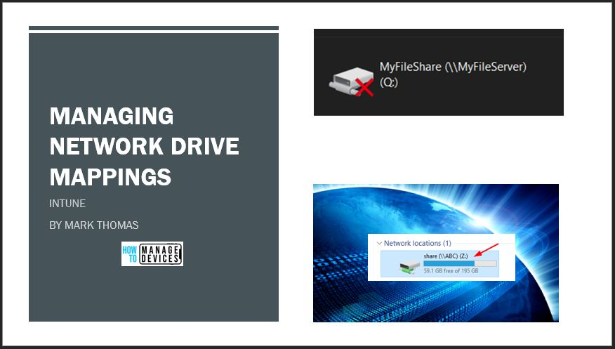 Managing Network Drive Mappings