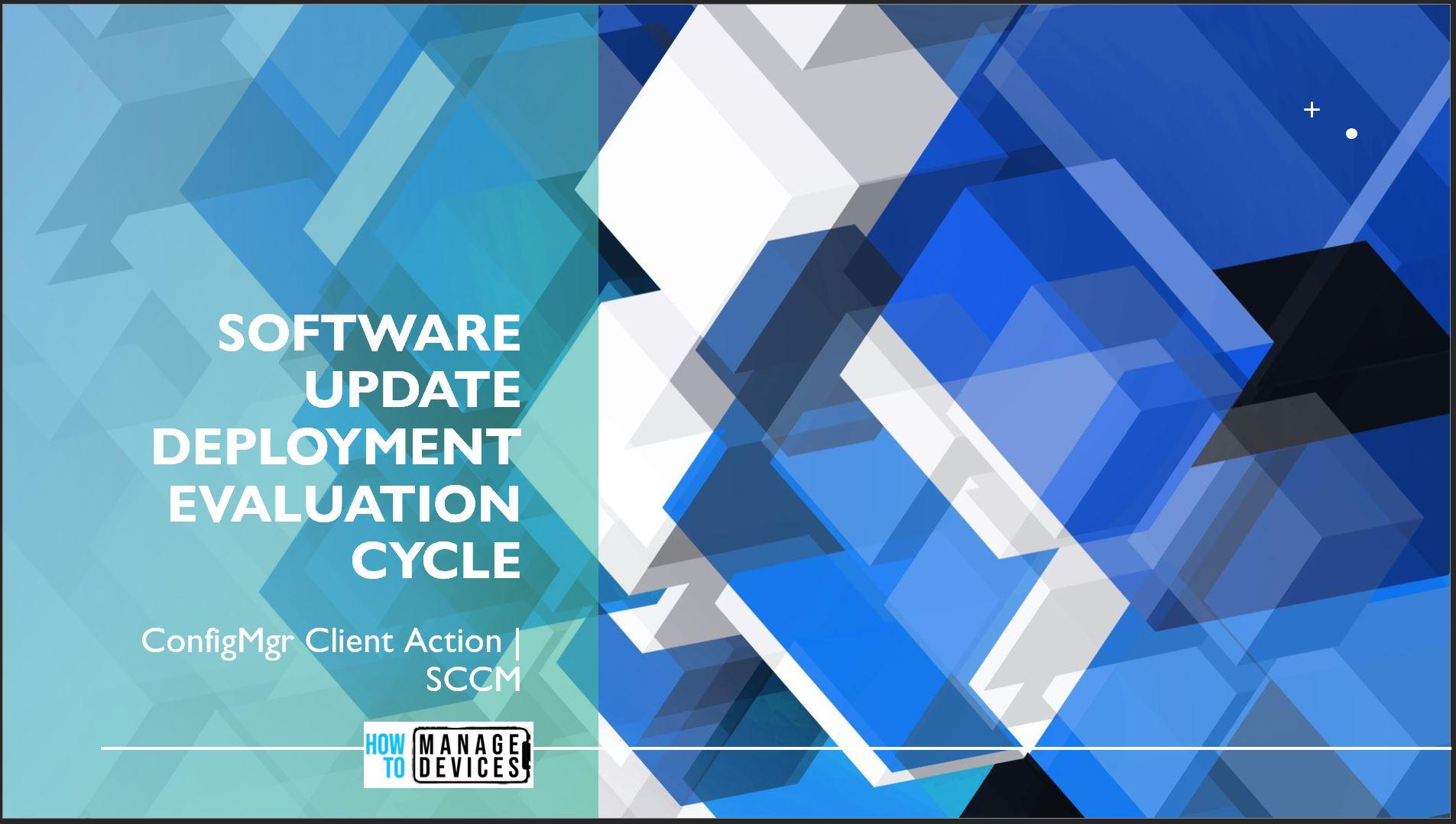 Software Update Deployment