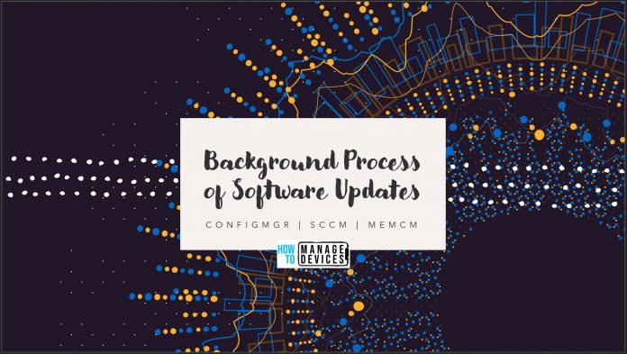 Software Updates Backend Process