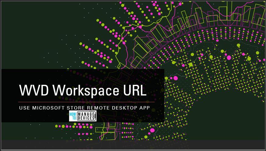 WVD Workspace URL