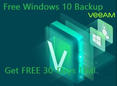 Veeam Windows 10