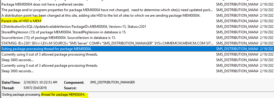 ConfigMgr Redistribute Content to Distribution Point | SCCM | Package