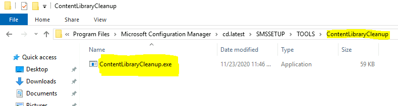 ConfigMgr Content Library Cleanup Tool   SCCM   Distribution Point