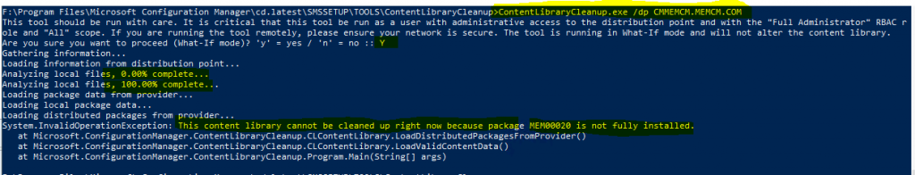 ConfigMgr Content Library Cleanup Tool | SCCM | Distribution Point