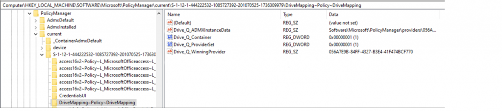 Managing Network Drive Mappings with Intune 4