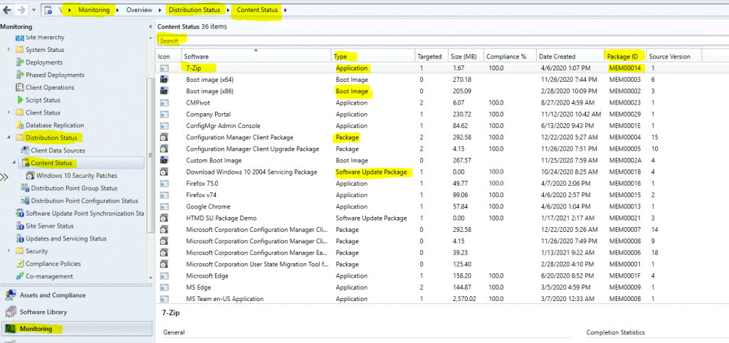Best Place to Find ConfigMgr Package IDs in Admin Console | SCCM