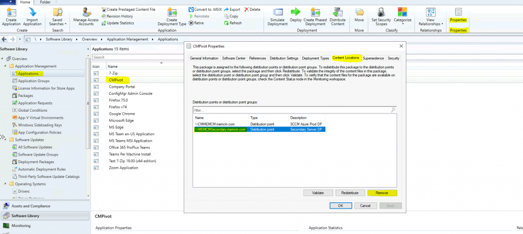 Remove ConfigMgr Package Content from a Distribution Point | Best Method | SCCM